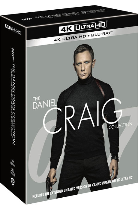 다니엘 크레이그 컬렉션 4K UHD+BD [THE DANIEL CRAIG COLLECTION]