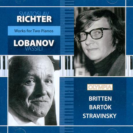 WORKS FOR TWO PIANOS/ SVIATOSLAV RICHTER, LOBANOV VASSILI