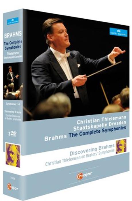 THE COMPLETE SYMPHONIES & DISCOVERING BRAHMS/ CHRISTIAN THIELEMANN [브람스: 교향곡 전집 & 다큐멘터리]