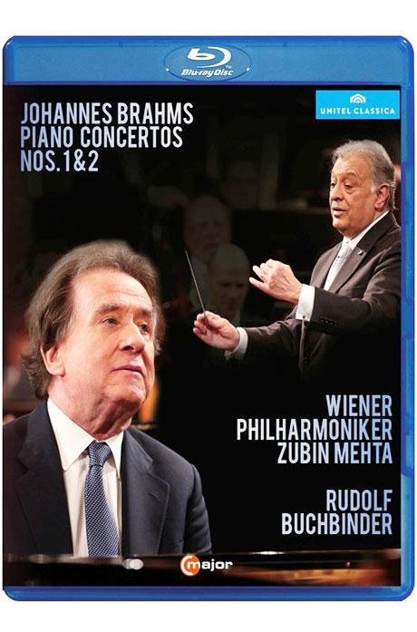 PIANO CONCERTOS NOS.1 & 2/ RUDOLF BUCHBINDER, ZUBIN MEHTA [브람스: 피아노 협주곡 1,2번]