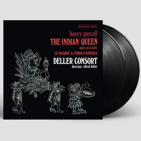 THE INDIAN QUEEN/ ALFRED DELLER [퍼셀: 인도 여왕 <요정의 여왕>| 알프레드 델러] [LP]