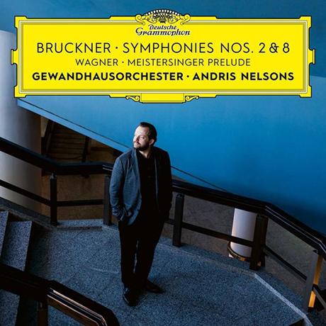 SYMPHONIES NOS.2 & 8, MEISTERSINGER PRELUDE/ ANDRIS NELSONS [브루크너: 교향곡 2, 8번 & 바그너: 뉘른베르크의 명가수 전주곡 - 넬손스]