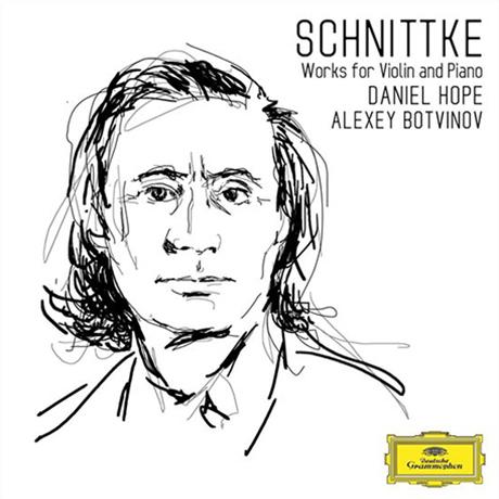 WORKS FOR VIOLIN AND PIANO/ DANIEL HOPE, ALEXEY BOTVINOV [슈니트케: 바이올린과 피아노를 위한 작품 - 다니엘 호프]