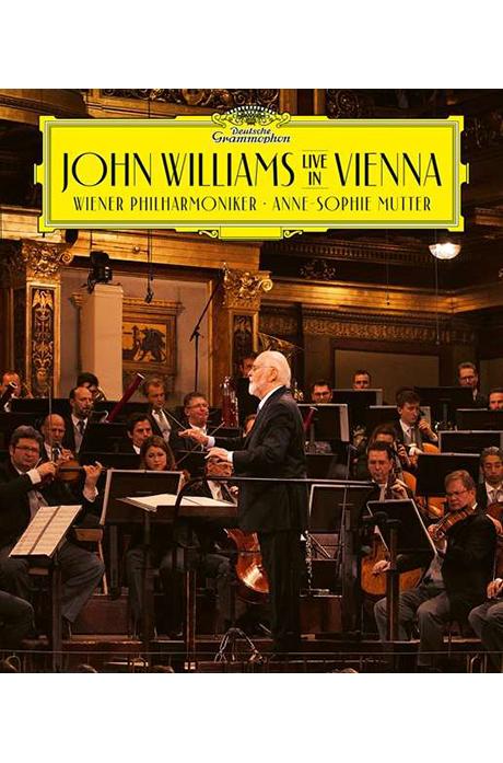 LIVE IN VIENNA/ ANNE-SOPHIE MUTTER [존 윌리엄스: 빈 실황 - 안네 소피 무터]