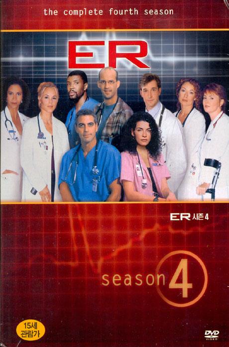 이알 시즌 4 [E.R: THE COMPLETE 4 SEASON] [15년 11월 워너 에버그린 TV 핫세일 프로모션]