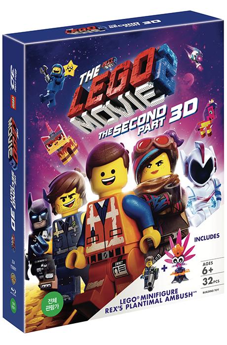 레고 무비 2 [3D+2D] [미니피규어 한정판] [THE LEGO MOVIE 2: THE SECOND PART]