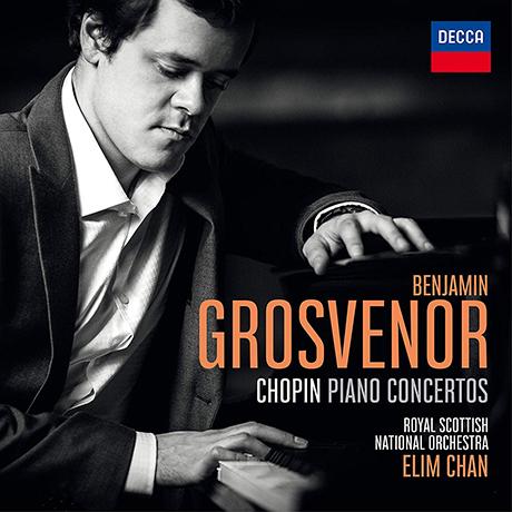 PIANO CONCERTOS/ BENJAMIN GROSVENOR, ELIM CHAN [쇼팽: 피아노 협주곡 1, 2번 - 벤자민 그로브너]