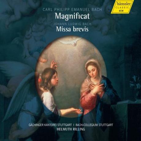 MAGNIFICAT & MISSA BREVIS/ HELMUTH RILLING