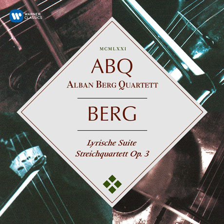 LYRIC SUITE & STRING QUARTET OP.3/ ALBAN BERG QUARTETT [ORIGINAL JACKET] [베르크: 서정모음곡, 현악 사중주]
