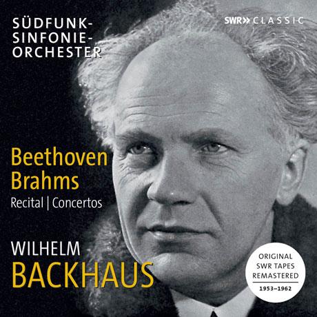 RECITAL & CONCERTOS/ WILHELM BACKHAUS [베토벤: 피아노 협주곡 5번, 피아노 소나타 3, 21, 29번 & 브람스: 피아노 협주곡 2번 외 - 빌헬름 박하우스]