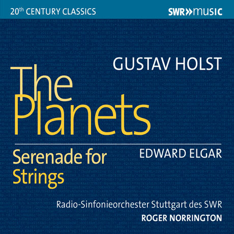 THE PLANETS & SERENADE FOR STRINGS/ ROGER NORRINGTON [홀스트: 혹성 & 엘가: 현을 위한 세레나데 - 로저 노링턴]