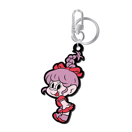 LOVES GOOD LUCK TROLLS - RUBBER KEYRING [YERI(예리) TROLL VER]