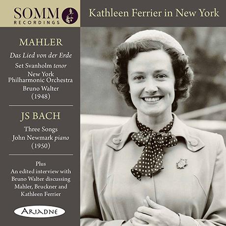 IN NEW YORK: MAHLER, BACH [캐슬린 페리어: 뉴욕 콘서트]