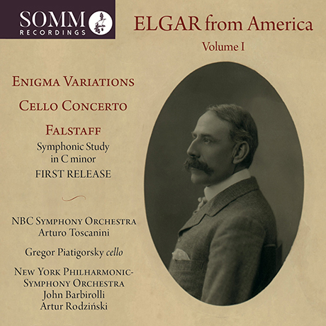 ELGAR FROM AMERICA VOL.1: ENIGMA VARIATIONS, CELLO CONCERTO/ ARTURO TOSCANINI [미국에서의 역사적 엘가 녹음 1집]