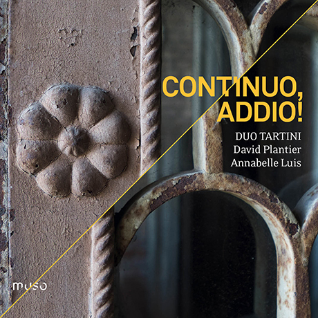 CONTINUO, ADDIO/ DUO TARTINI [콘티누오여 안녕히: 바이올린과 첼로를 위한 듀오 작품집 - 듀오 타르티니]