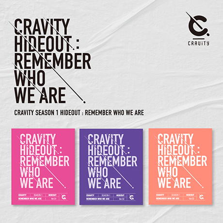 SEASON 1 HIDEOUT: REMEMBER WHO WE ARE [3종 세트]