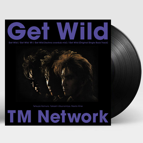 GET WILD [EP] [겟 와일드 - 시티 헌터] [ANIME SONG ON VINYL 2021 한정반] [LP]