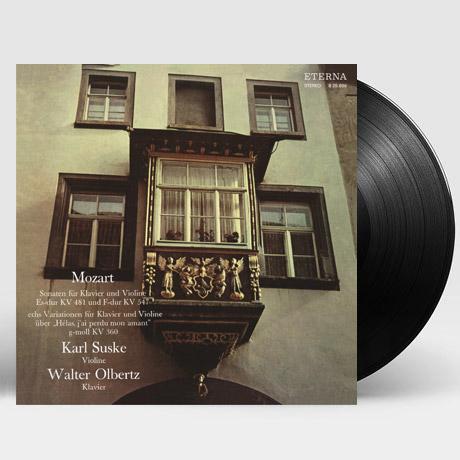 VIOLIN SONATAS KV.481 & 547/ KARL SUSKE, WALTER OLBERTZ [모차르트: 바이올린 소나타 작품 전곡 1집 - 카를 주스케] [한정반] [180G LP]