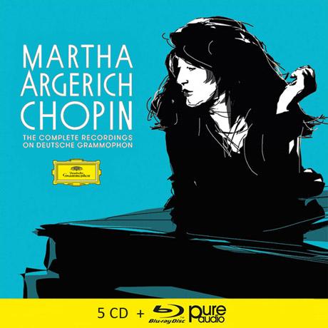 CHOPIN THE COMPLETE RECORDINGS ON DEUTSCHE GRAMMOPHON [5CD+BDA] [마르타 아르헤리치: 쇼팽 녹음]