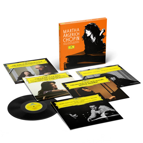 CHOPIN SOLO & CONCERTO RECORDINGS ON DEUTSCHE GRAMMOPHON [마르타 아르헤리치: 쇼팽 녹음] [넘버링 한정반] [180G LP]