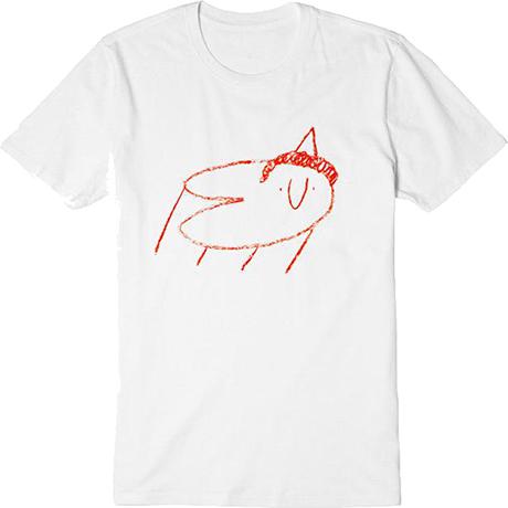 ONCLE JAZZ 티셔츠 [화이트_S]