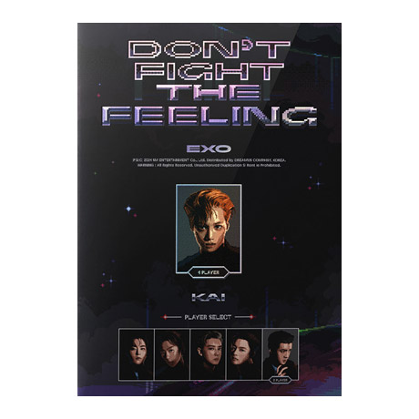 DON`T FIGHT THE FEELING [EXPANSION VER] [스페셜 앨범] [카이 VER]