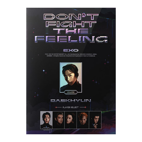 DON`T FIGHT THE FEELING [EXPANSION VER] [스페셜 앨범] [백현 VER]