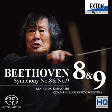 SYMPHONY NO.8 & 9/ KEN-ICHIRO KOBAYASHI [SACD HYBRID]