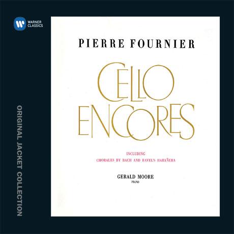 CELLO ENCORES/ GERALD MOORE [워너 오리지널 자켓 컬렉션] [피에르 푸르니에: 첼로 소품집]