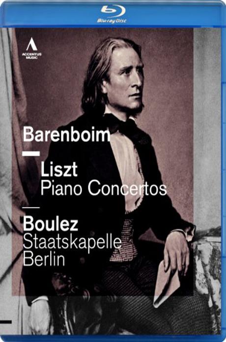 PIANO CONCERTOS/ DANIEL BARENBOIM, PIERRE BOULEZ [블루레이 전용플레이어 사용]