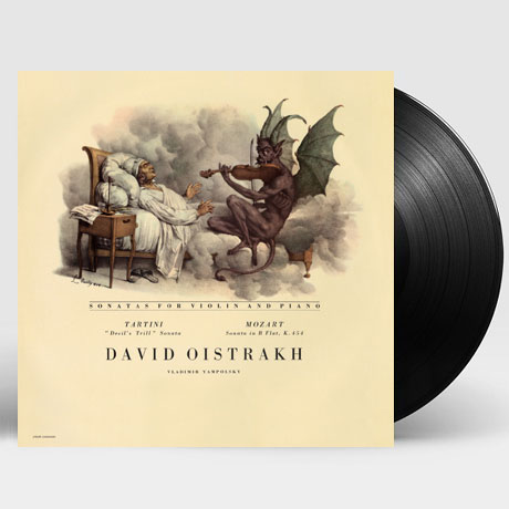 DEVIL`S TRILL & VIOLIN SONATA K.454/ DAVID OISTRAKH [타르티니: 악마의 트릴 소나타 & 모차르트: 바이올린 소나타 - 다비드 오이스트라흐] [180G LP]