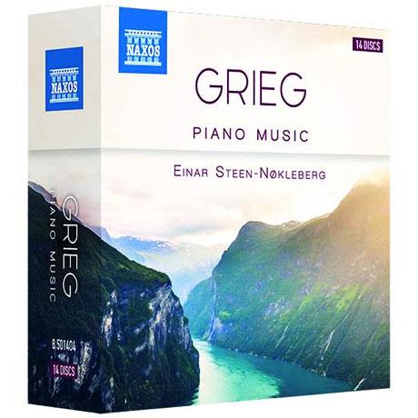 PIANO MUSIC/ EINAR STEEN-NOKLEBERG [그리그: 피아노 독주곡 모음집ㅣ에나르 스틴-뇌클레베르크]