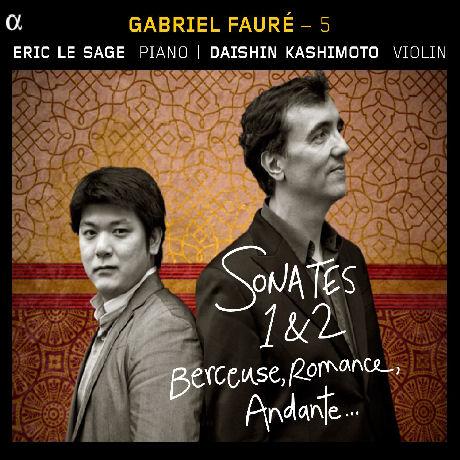 WORKS FOR VIOLIN AND PIANO/ ERIC LE SAGE, DAISHIN KASHIMOTO