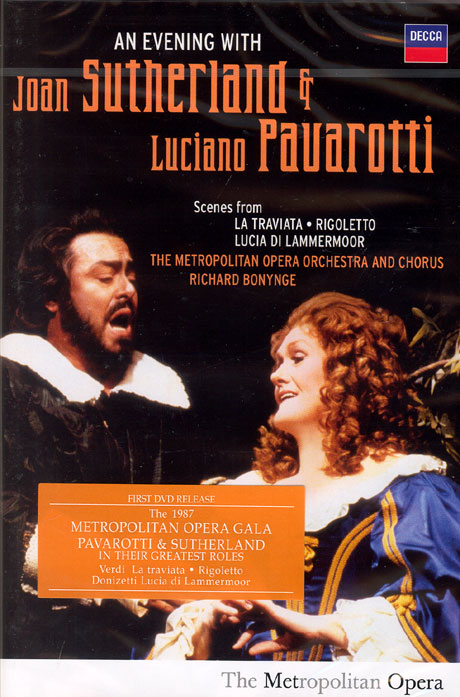 AN EVENING WITH JOAN SUTHERLAND & LUCIANO PAVAROTTI/ RICHARD BONYNGE