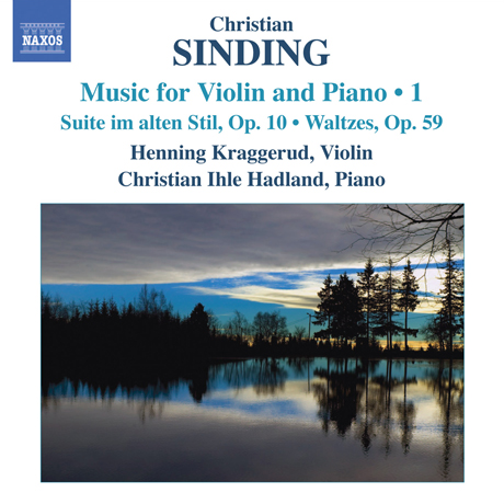 MUSIC FOR VIOLIN AND PIANO 1/ HENNING KRAGGERUD/ CHRISTIAN IHLE HADLAND