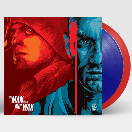 THE MAN FROM MO` WAX [LIMITED] [더 맨 프롬 모 왁스] [BLUE & RED LP]