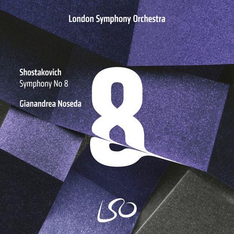 SYMPHONY NO.8/ GIANANDREA NOSEDA [SACD HYBRID] [쇼스타코비치: 교향곡 8번 - 노세다]
