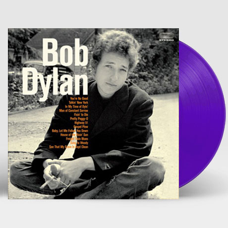 BOB DYLAN: DEBUT ALBUM [WAX TIME IN COLOR] [180G PURPLE LP]