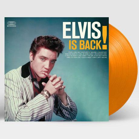 ELVIS IS BACK! [WAX TIME IN COLOR] [180G ORANGE LP]