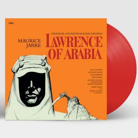 LAWRENCE OF ARABIA [WAX TIME IN COLOR] [아라비아의 로렌스] [180G RED LP]