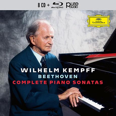 COMPLETE PIANO SONATAS/ WILHELM KEMPFF [8CD+BDA] [베토벤: 피아노 소나타 전집 - 켐프]