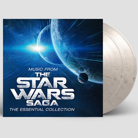 MUSIC FROM THE STAR WARS: SAGA - THE ESSENTIAL COLLECTION [스타워즈 사가: 에센셜 컬렉션] [한정반] [WHITE & BLACK MARBLED] [180G LP]