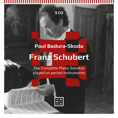THE COMPLETE PIANO SONATAS PLAYED ON PERIOD INSTRUMENTS/ PAUL BADURA-SKODA [슈베르트: 피아노 소나타 전집 - 파울 바두라 스코다]