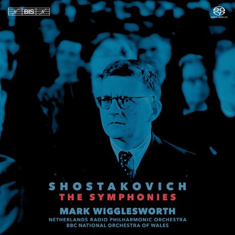 THE SYMPHONIES/ MARK WIGGLESWORTH [SACD HYBRID] [쇼스타코비치: 15개의 교향곡 전곡]