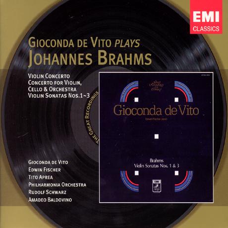 VIOLIN CONCERTO & SONATAS/ GIOCONDA DE VITO