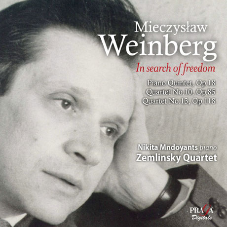 IN SEARCH OF FREEDOM: CHAMBER MUSIC/ ZEMLINSKY QUARTET, NIKITA MNDOYANTS [SACD HYBRID] [미치슬라프 바인베르크: 피아노 오중주 & 현악 사중주]
