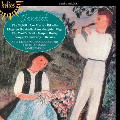 CHORAL MUSIC/ NEW LONDON CHAMBER CHOIR, JAMES WOOD [HELIOS]