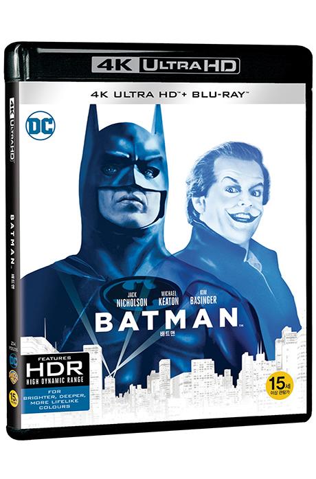 배트맨 4K UHD+BD [BATMAN]