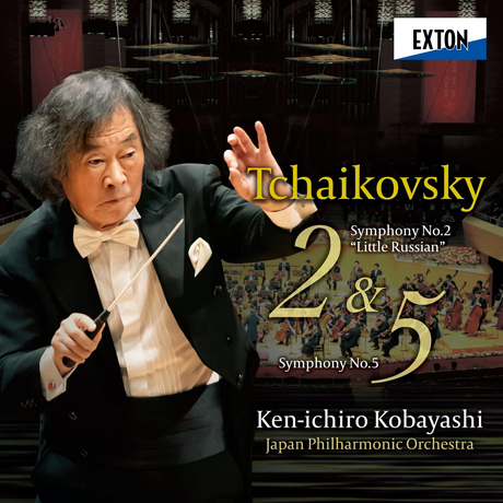 SYMPHONIES NOS.2 & 5/ KEN-ICHIRO KOBAYASHI  [차이코프스키: 교향곡 2, 5번 - 고바야시 겐이치로]