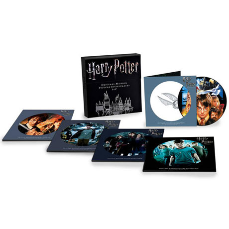 HARRY POTTER 1-5 [LIMITED] [PICTURE DISC LP] [해리포터 전집]
